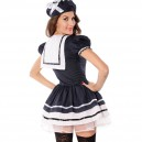 Halloween Europe and The United States Ghost Festival Pirate Sailor Pack Plus Size Game Uniform Halloween Costume