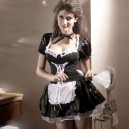 Supply Short - Sleeved Halloween European and American Ghost Festival Maid Maid Game Halloween Costume
