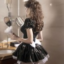 Short - Sleeved Halloween European and American Ghost Festival Maid Maid Game Halloween Costume
