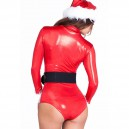 Europe and The United States Dress Three - Piece Long - Sleeved One - Piece Dress Christmas Equipment