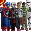 Supply Halloween Children Clothing Avengers Union Set Heroes Union Captain America Iron Man