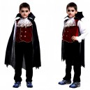 Supply Halloween Costume Children Makeup Vampire Dressup with Cloak