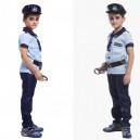 Supply Halloween Costume Children Stage Police Uniforms Children Police Wear