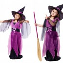 Supply Halloween Costume Girl Child Makeup Witch Princess Dress