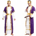 Supply Halloween Costume Adult Mask King Robes Universe