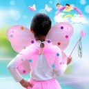 Dresses Princess Dancing Skirt Angel Butterfly Wings Three-piece Four-piece Suit
