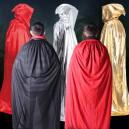 Supply Halloween Costume Dress Clothing Witch Cloak Mop Death Death Cloak Adult Cloak Castle Black Red Cloak