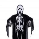 Supply Halloween Costume Ghost Festival Costume Skull Head Ghost Clothing Makeup Dress Skull Glove Performance Suit