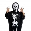 Halloween Costume Ghost Festival Costume Skull Head Ghost Clothing Makeup Dress Skull Glove Performance Suit