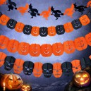 Supply Halloween Decoration Halloween Laughing Venue Arrangement Pumpkin Skeleton Ghost Spider Bats