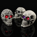 Supply Halloween Decoration Novelty Creative Toys Funny Spoof The Whole Resin Skull Head To