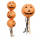 Supply Halloween Decoration Argument Terrorist Arrangement Jack Lantern 30 Or with A Pumpkin Paper Lantern