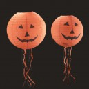 Halloween Decoration Argument Terrorist Arrangement Jack Lantern 30 Or with A Pumpkin Paper Lantern