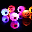 Supply Halloween Soft Ring Ring Eyeball Flash Ring Pumpkin Glowing Ring Finger Finger Light