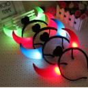 Shiny Horns Hoop Horns Lights Luminous Horns Horn Horns Hoop Concert Supplies