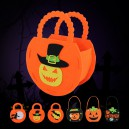 Supply Halloween Decoration DIY Pumpkin Bag Bag Non-woven Pumpkin Bag Gift Candy Bag
