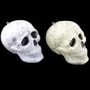 Halloween Festive Supplies Ktv Ghost Festival Whole Skeleton Head Skull Skull Bone Size Ghost Head