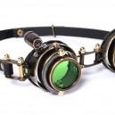 Steam Punk Gothic Style Retro Goggles Shot