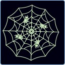 Supply Halloween Supplies Haunted House Ktv Decoration Tamper Toys Luminous Spider Web