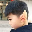 Supply Halloween Make-up Simulation Elves Ear Latex Staples Half Ears Ears Ears