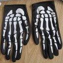 Supply Halloween Ghost Festival Hand Skull Handguard Terror Ghost Claw Gloves Death Gloves