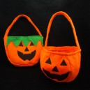 Supply Halloween Supplies Handbag Pumpkin Bag Halloween Nonwovens Pumpkin Bag Stereo Pumpkin Bag