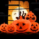 Supply Halloween Halloween Ktv Ornaments Luminous Portable Pumpkin Lanterns Luminescence Pumpkin Lights