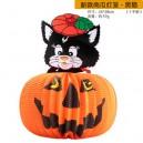 Supply Halloween Decorative Supplies Funny Ghost Witch Spider Batt Strap Decorative Big Lantern