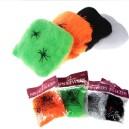 Halloween Supplies Halloween Scene Spider Silk Spider Web Accessories Spider Cotton Band Spider