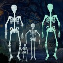 Supply Luminous Skeleton Skeleton Halloween Activities Haunted House Decoration Supplies M Fluorescent Skeleton