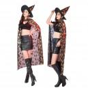 Halloween Children Clothing Men and Women Can Be Halloween Cloak Witch Cap Cape Witch Vampire Cloak