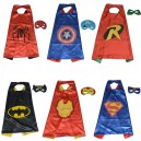 Supply Halloween Cloak Child Man Captain Batman Makeup Apparel Robin Cloak Iron Man