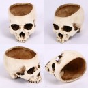 Supply Halloween Headless Skull Hollow Skull Skull Bone Skull Skull Skull Flower Pot Skull Skull Ashtray