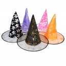 Halloween Supplies Performance Witch Cloak Accessories Wizards Cap Magic Cap Hood Double Witch Hat