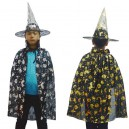 Supply Halloween Costume Child Witch Cloak Child Cloak Witch Treasure Golden Silver