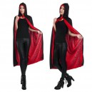 Supply Halloween Costume Clothing Death Cloak Cloak Two Color Double Layer M with Hat Cloak