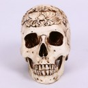 Supply Halloween Halloween Scene Dressing Resin Real Human 1 Carved Skull Skull Skull Model Pendulum Batch