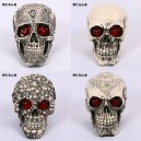 Supply Halloween Scene Dress Up Resin Simulation Human Skull Illness Skull Skull Model Terror Trick Decoration