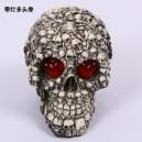 Halloween Scene Dress Up Resin Simulation Human Skull Illness Skull Skull Model Terror Trick Decoration