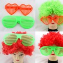 Supply Birthday Exaggerated Big Glasses Funny Glasses Love Glasses Non-mainstream Eye Box Peach Heart Glasses