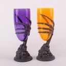 Supply Halloween Make-up Ghost House Ktv Party Scene Dress Glow Ghost Claw Horror Wine Cup