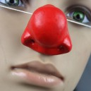 Halloween Clown Dress Up Funny Toy Red Neck Funny Toys Latex Clown Nose Red