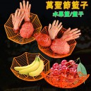 Supply Halloween Decoration Spider Fruit Plate Fruit Dish Devil Festival Restaurant Ktv Fruit Plate Fruit Basket New Products