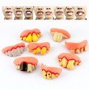 Supply The Whole Person Toy Halloween Characters Dress Up More Funny Funny False Teeth Zhuan Teeth Rabbit Teeth Style