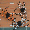 Supply Halloween Haunted House Scene Decoration Big Spider Plush Spider Spider Spider Spider
