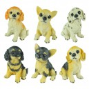 Supply Puppy Save Money Jar Dog Children Gifts Toys Yellow Dog Spotted Dog Resin Puppy Home Ornaments