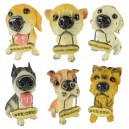 Supply Resin Crafts Simulation Dogs Interior Furniture Decoration Decoration Festival Gifts Gifts Animals