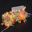 Christmas Lights Led Lights String Flashing Lights Christmas Lights String Decorative Lights Stars Stars String 10 Meters White Blue