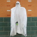 Halloween Creative Tricky Toys Ghost House Chamber of Secrets Decorative White Voice Rotating Big Hammer