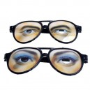 Supply Halloween Dress Up Fool Day Decorative Glasses Men & Women Funny Glasses Plastic Glasses